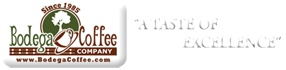 Bodega Coffee ~Fair Trade~A Taste of Excellence~visit our store in Morgan Hill, CA #gluten free #fair trade, #healthy food  #vegetarian #vegan  peopleandplanetstore.com