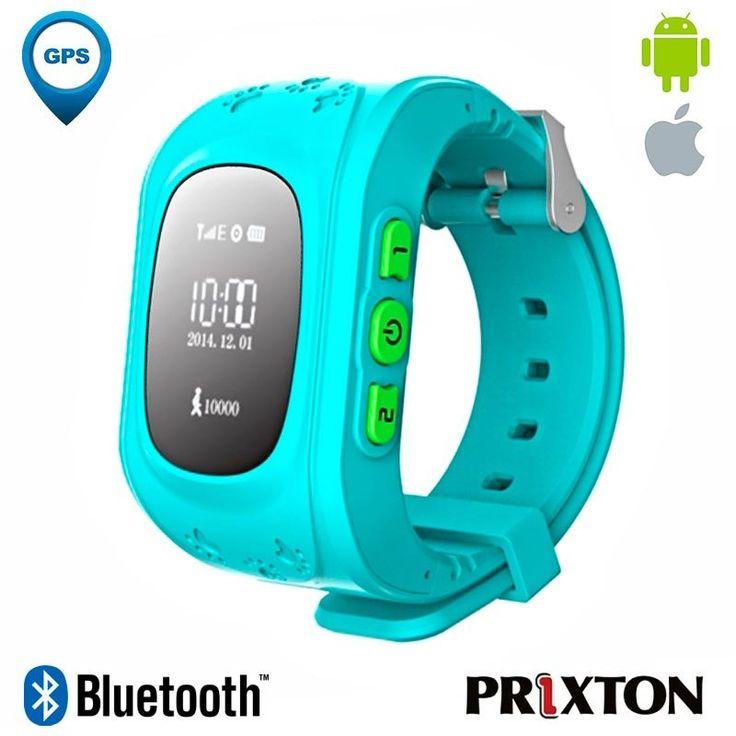 Smartwatch Prixtom Watchi G100 Bluetooth Azul