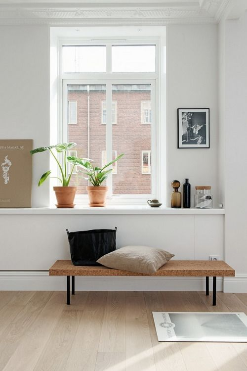Ikea 'Sinnerlig' bench by Ilse Crawford