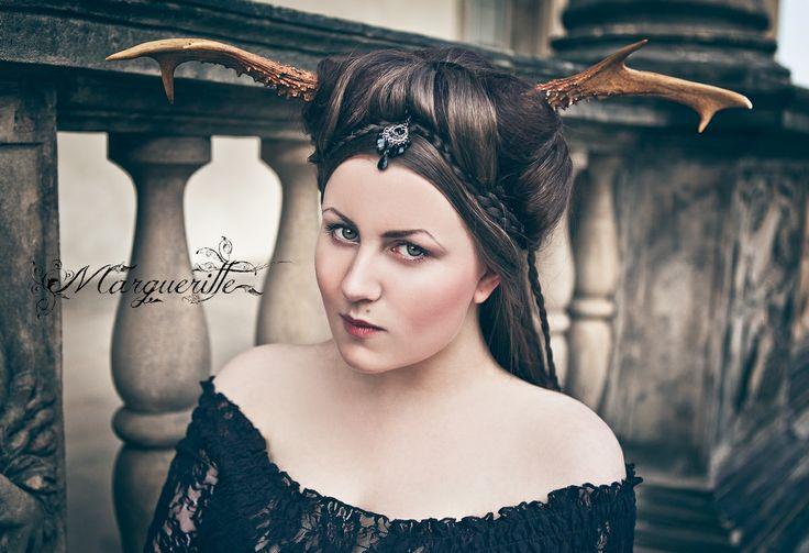 Oh, deer! Model&concept: Margueritte Weinlich Hair&makeup: Markéta Vaničková Photo&retouching: Karolina Ryvolova photography