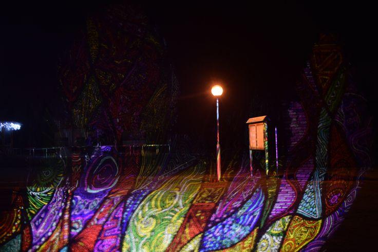 BÚÉK 2016 - Night Projection fényfestés Kehida Termál Gyógy- és Élményfürdő - Kehidakustány #BÚÉK #Kehidakustány #KehidaTermál #NightProjection #fényfestés #raypainting #visuals #fénydekoráció