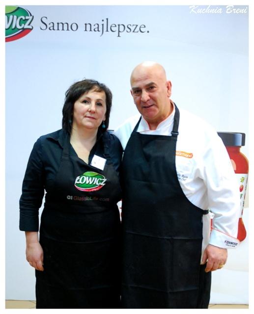Autorka bloga kuchniabreni.blox.pl z Giancarlo Russo