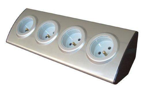 Enexo – Blocs Cuisine – Bloc 4 Prises 16A à câbler: Fourni avec velcro afin d'éviter tout perçage: fixation simple Positionnement vertical…