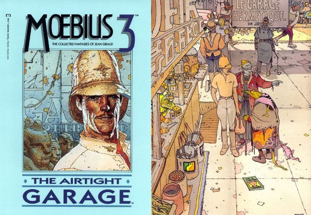 Airtight Garage, by Moebius | 60 Comics Everyone Should Read