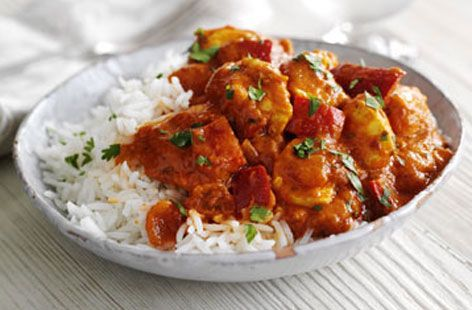 Tasty chicken tikka masala - we make this all the time and it's so tasty.  We do half the amount of tikka paste though as we're not overly into spices.