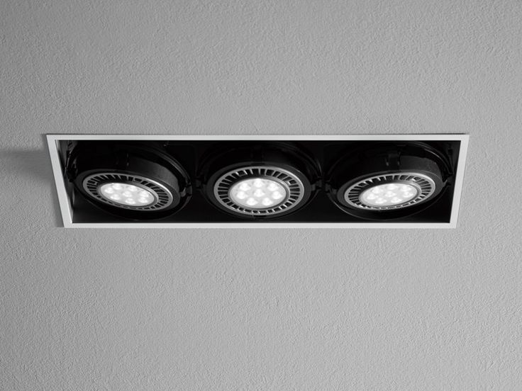 LED adjustable recessed spotlight INC by Martinelli Luce