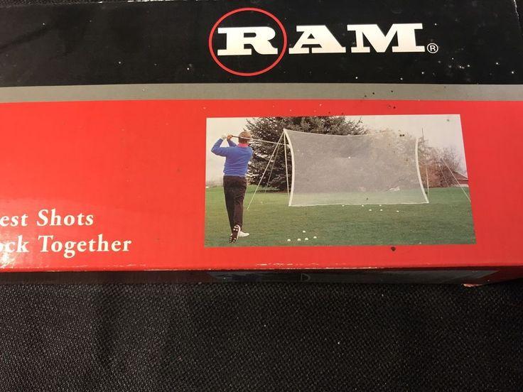 Ram Golf Practice Net 7 by 9 feet Weather Resistant Golf Setup  #Bionic