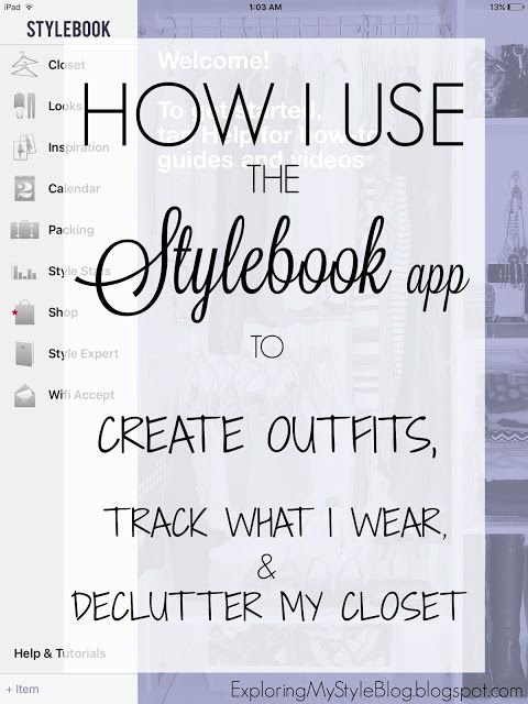 How I Use the Stylebook App to Create Outfits, Track What I Wear, and Declutter My Closet