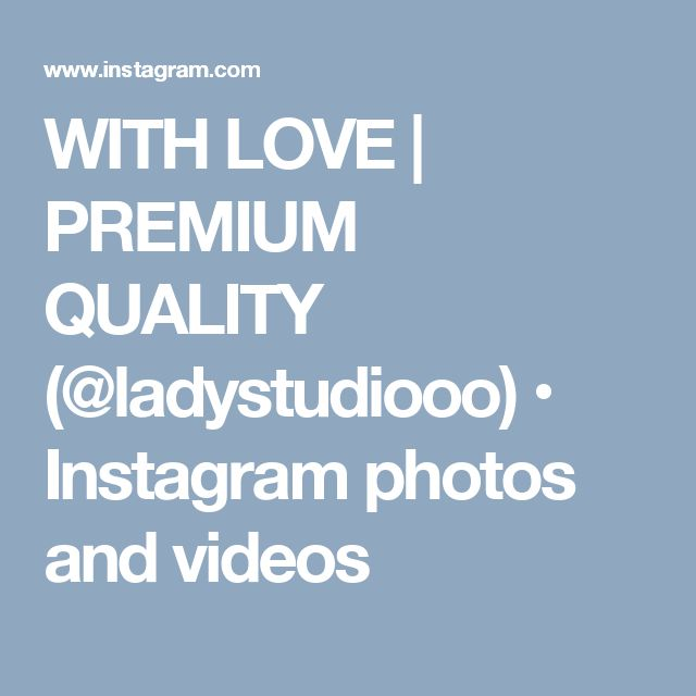 WITH LOVE | PREMIUM QUALITY (@ladystudiooo) • Instagram photos and videos