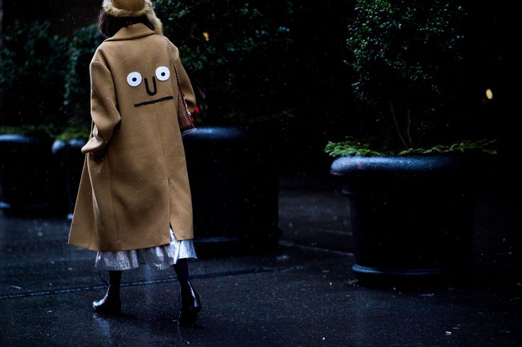 Streetstyle на Неделе моды в Нью-Йорке. Часть 3