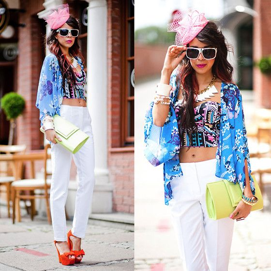 BLUE ocean (by Tamara Gonzalez Perea) http://lookbook.nu/look/3599977-BLUE-ocean