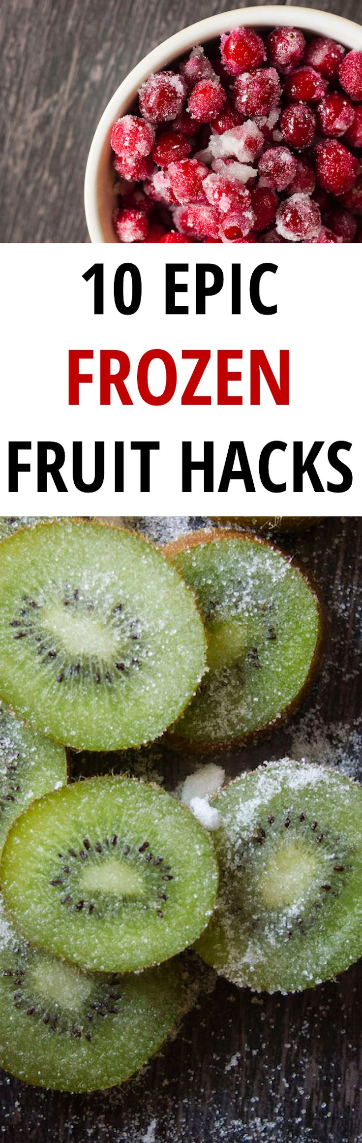 These frozen fruit hacks that will help cool you off while satisfying your sweet tooth and leaving you with extra cash in your account.