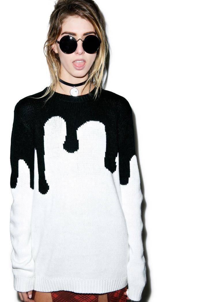 Evil Twin Melting Point Sweater | Dolls Kill
