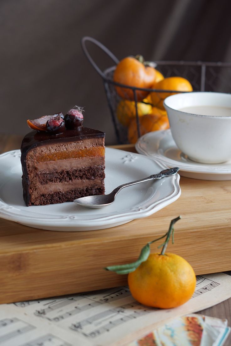 Муссовый торт Захер