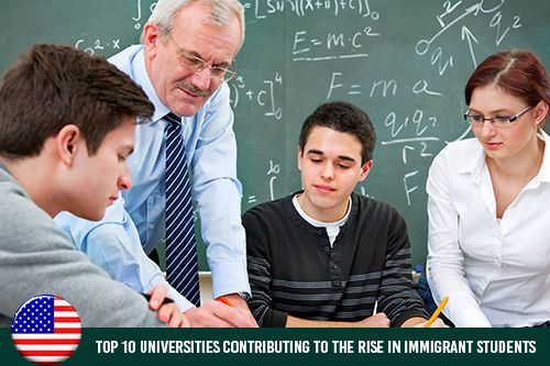 Table of Top 10 Universities for International Students