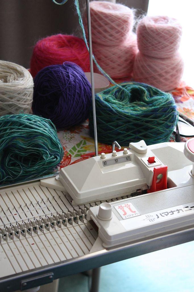 ハマナカニードル・hamanaka needle knitting machine