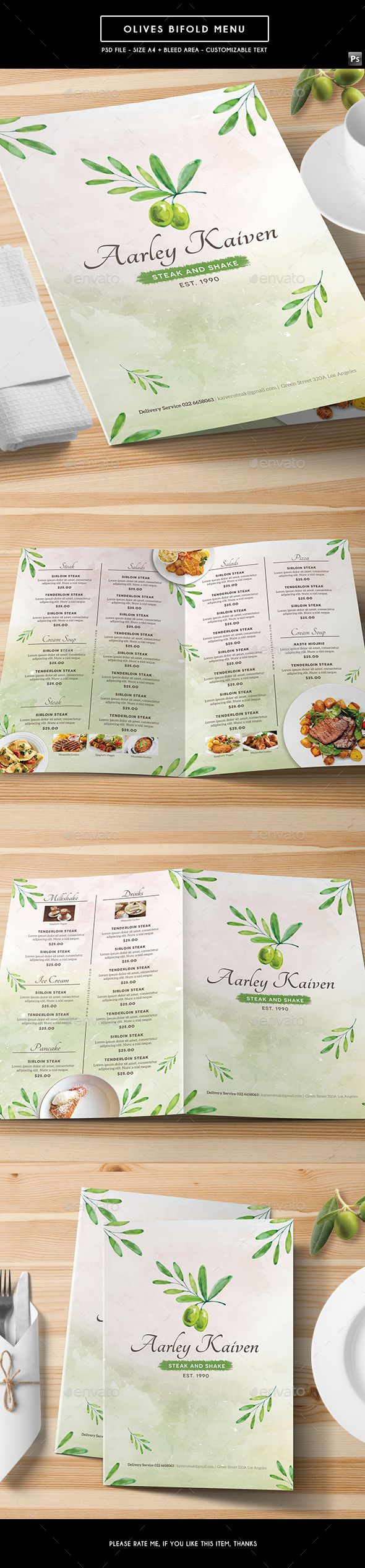 294 best Best Food Menu Templates images – Food Menu Template