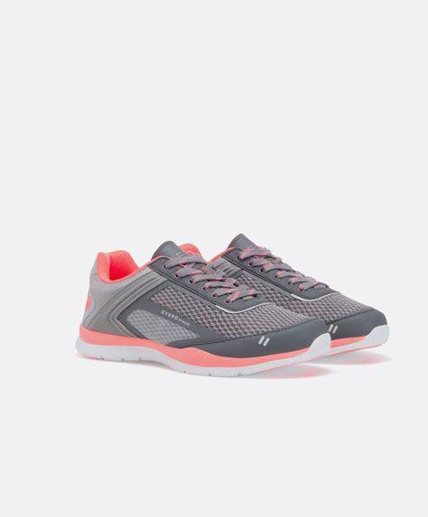 Oysho three-tone base sneakers - OYSHO