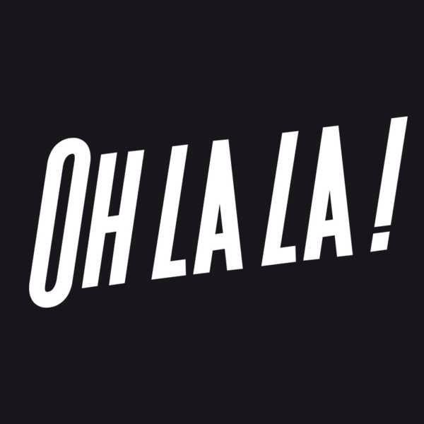 oh la la!: La La, Aunt Patties, Typography Graphics Quotes, Blackandwhit Quotes, Language French