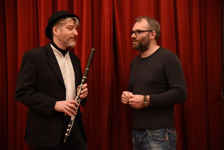 Enrico Fink e Matteo Corradini - Wiegenlied - Ninnananna per l'ultima notte a Terezin - Pavel Zalud Orchestra | da officinedellacultura
