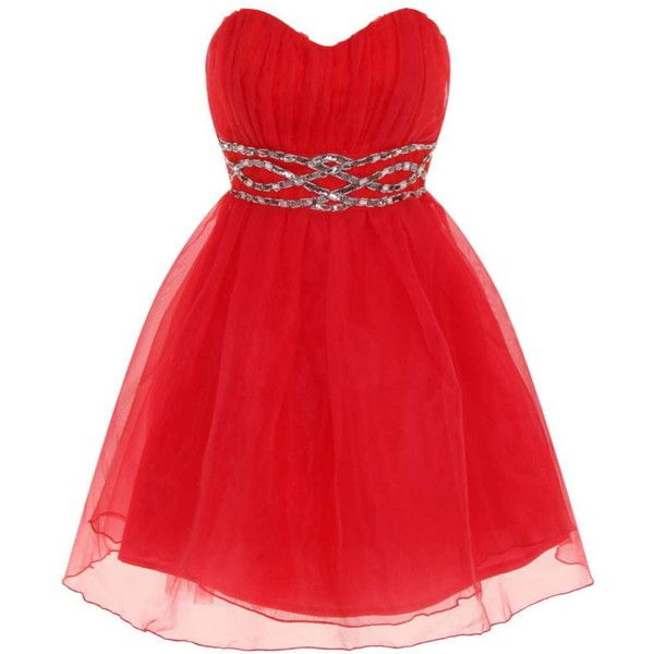 Dorothy Perkins **Laced in Love Magenta Prom Dress ($66) ❤ liked on Polyvore featuring dresses, red, robe, vestidos, pink, reversible dress, pink embellished dress, red cocktail dress, prom dresses and pink prom dresses