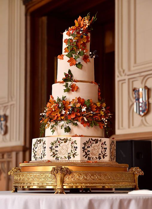 Princess Eugenie S Wedding Cake Revealed See Photos Wedding Cakes