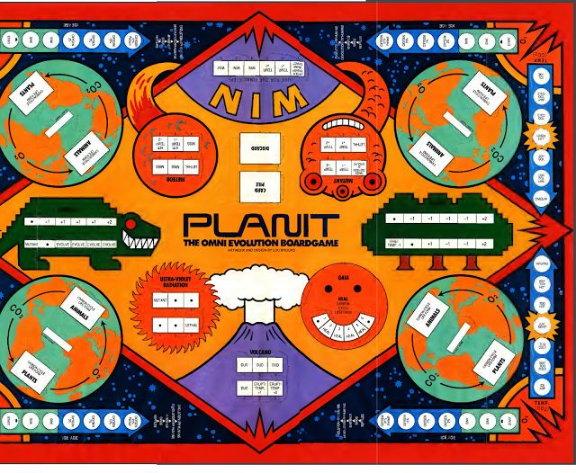 PLANIT: The Omni Evolution Board Game with directions!   Omni puzzle