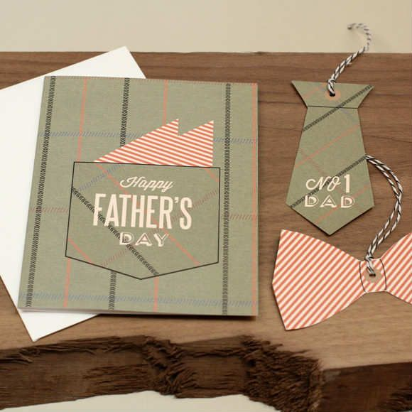 Adorable Bow Tie Gift Tag | 10 Fun Father's Day Printables - Tinyme Blog