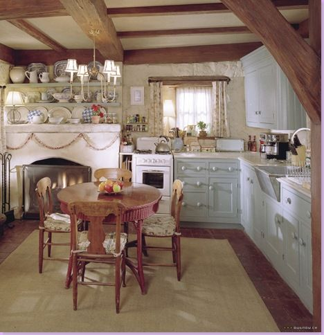from Modern Country Style blog: The Holiday Houses: Kitchens
