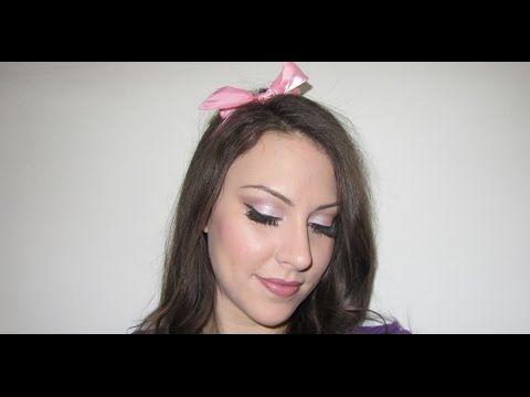 Rózsaszín Valentin napi smink és haj, Avon termékekkel