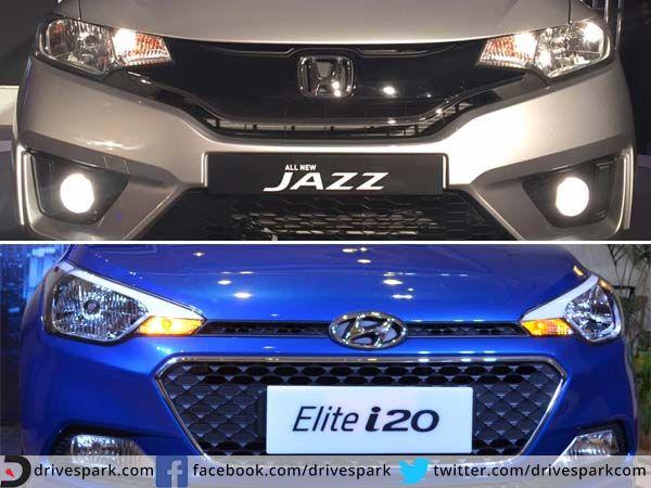 Honda Jazz Vs Hyundai Elite i20: Which Hot Hatch Is Hotter? - DriveSpark