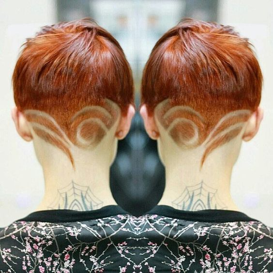 Hair Tattoo ideas for girls - Tattoo Designs For Women!