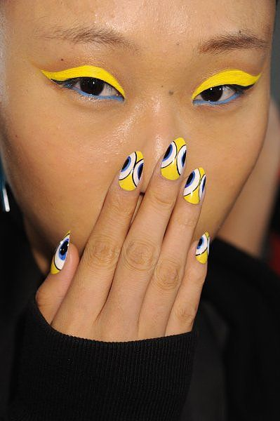 The Blonds Spring 2014 - the Coolest Nail Looks at New York Fashion Week