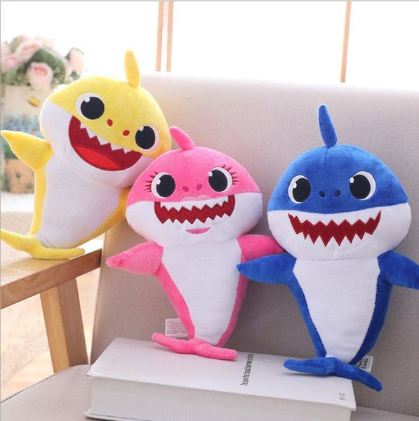 UK Baby Shark Plush Singing Plush NEW Toys Music Doll English Song Gift for kids