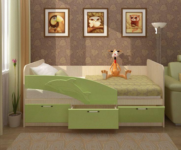 «Дельфин» Детская кровать 2,0 м | V5 - интернет магазин мебели