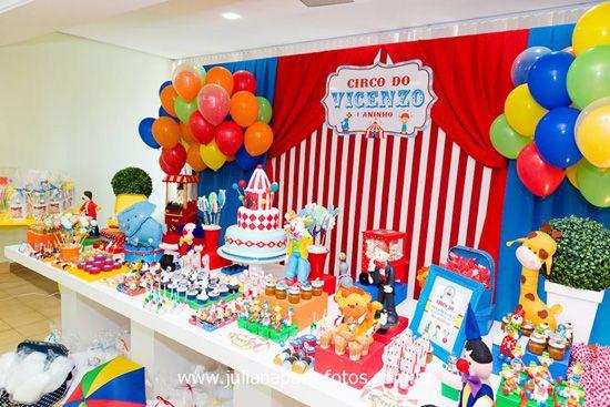 festa circo 15 anos - Buscar con Google