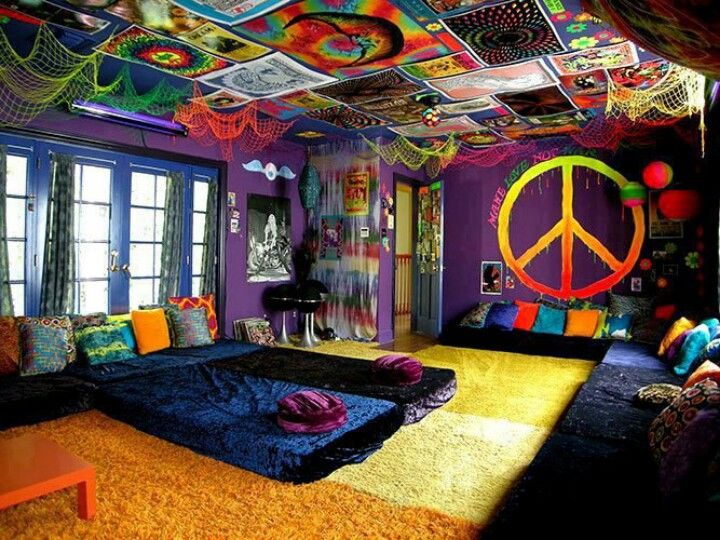tie dye room awesome bunk beds beds pinterest