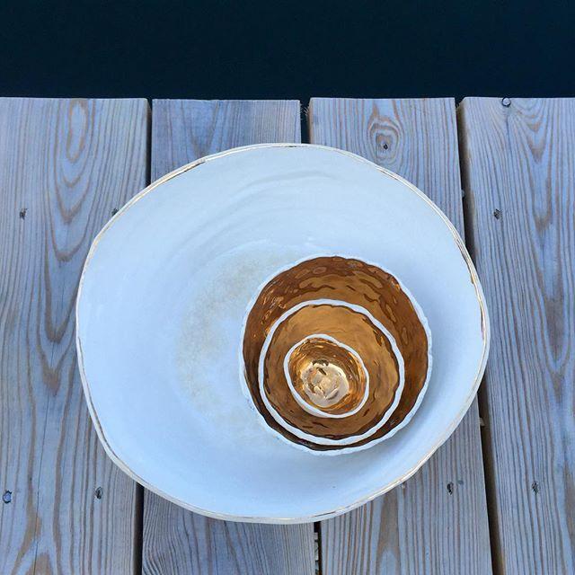 Special Order  #porcelain + #glass + #gold #sourceandtradition