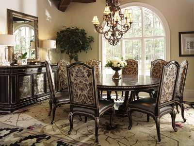 Marge Carson Dining Room Piazza San Marco Side Chair PSM65 1   Kathy Adams  Furniture
