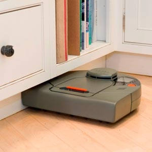 LOVE this thing so much! Refuse to live without it in a house with all hardwood floors. ((Neato XV-11 Robot Vaccum))