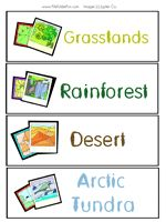 10 biomes and their characteristics pdf