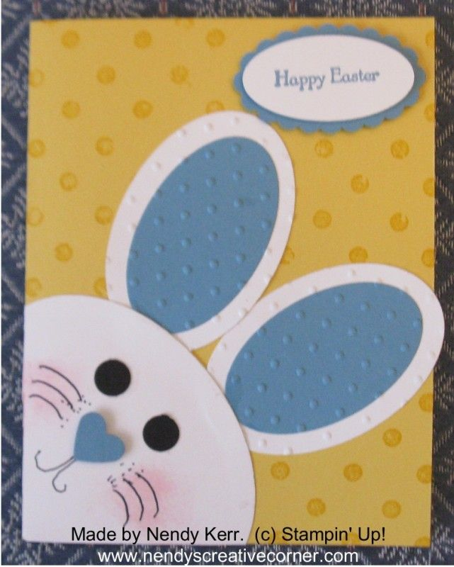 Easter Bunny Card Stampin' Up!