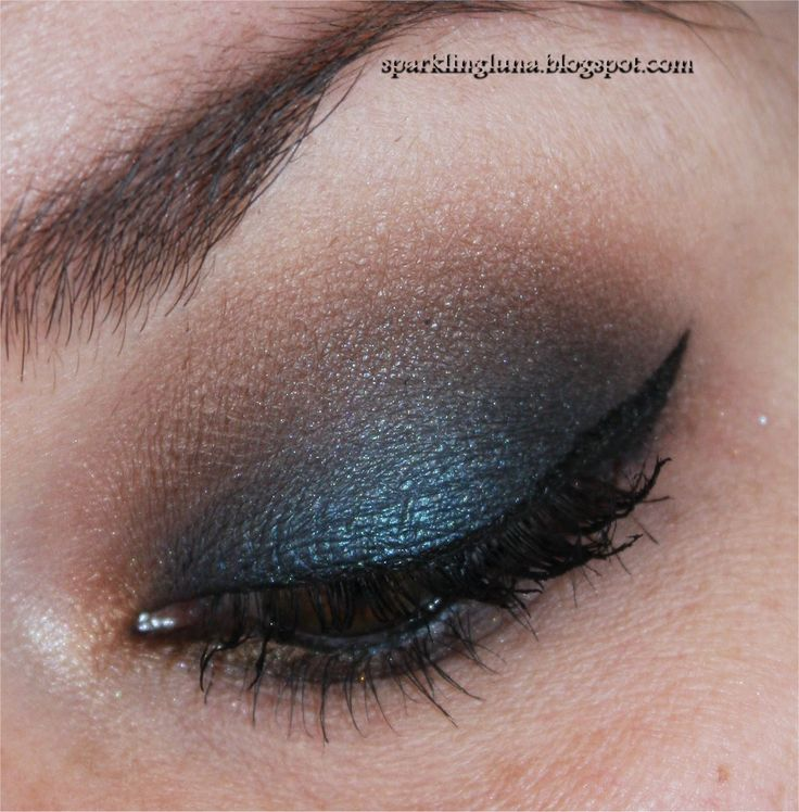 Sparkling Luna: EOTD: Too Faced Semi Sweet Chocolate Bar palette : Blueberry Swirl - Puddin' - Mousse - Hot Fudge and Caramel