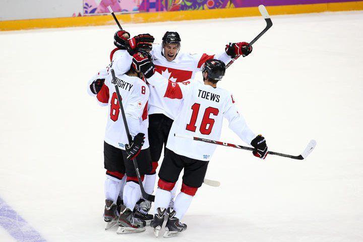 Canada vs Latvia: Weber finally solves Gudlevskis, Canada wins 2-1