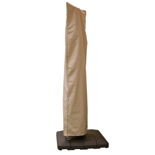 Hearth & Garden SF40239 Offset Umbrella Cover - Check this out at... http://outdoorlivingandpatioessentials.com/patio-umbrellas/hearth-garden-sf40239-offset-umbrella-cover/