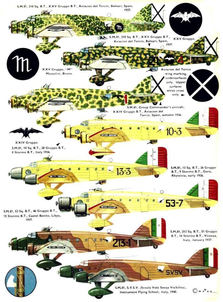 Savoia Marchetti SM81 (146) Page 02-960