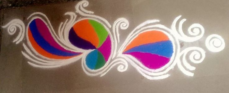 Colorful Rangoli Designs