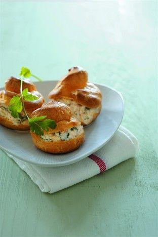 Choux au crabe et à la coriandre - Larousse Cuisine