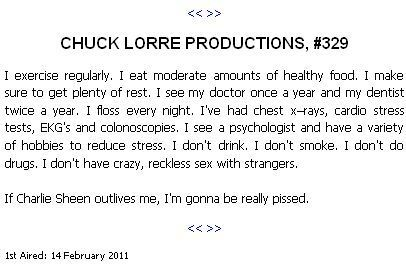 chuck lorre productions 231