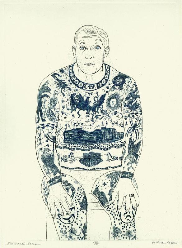 L'uomo tatuato da Beth Van Hoesen